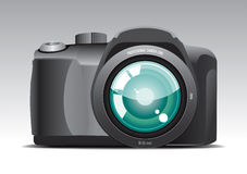 Camera 1. Pro Camera 1 Vector Drawing Vector Illustration