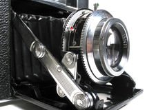 The Camera. The Ancient film Camera Royalty Free Stock Image