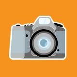 Camera. Abstract camera illustration design Royalty Free Stock Image