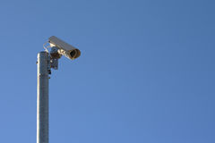 Camera. Watching camera system spy control technology Royalty Free Stock Photography