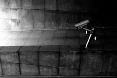 Camera. A surveillance camera Royalty Free Stock Image