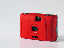 Camera. Compact 35mm Camera Royalty Free Stock Image