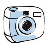 Camera icon vector Stock Photography