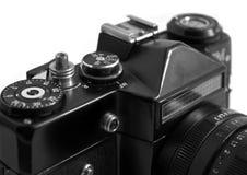 Camera. Old SLR film photo camera Royalty Free Stock Images