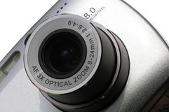 Camera 8 megapixel Royalty Free Stock Photo