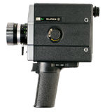 Camera 8 mm Royalty Free Stock Photo