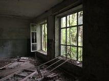 Camera abbandonata Fotografia Stock