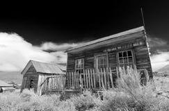 Camera abbandonata della città fantasma immagine stock