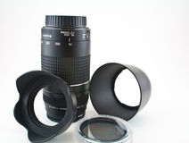 Camera accessories Royalty Free Stock Image