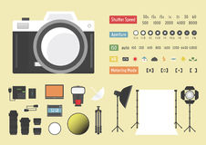 Camera Accessories Royalty Free Stock Photo