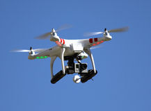 Camera for aerial photography Royalty Free Stock Photo