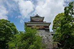 Camera al castello di kumamoto fotografia stock libera da diritti