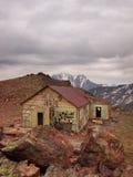 Camera in alta montagna Immagine Stock