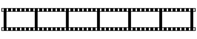 Free Camera And Cinema Film Strip. Vector Illustration. EPS 10 Royalty Free Stock Image - 180590006