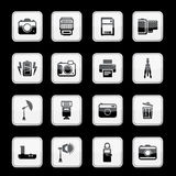 Camera app icon set. Vector Stock Photography