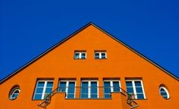 Camera arancione immagine stock