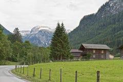 Camera austriaca dell'azienda agricola Fotografie Stock