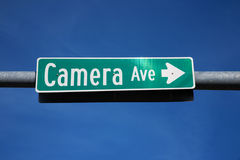Camera Avenue  Stock Image