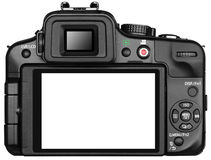Camera Back Screen royalty free stock photo