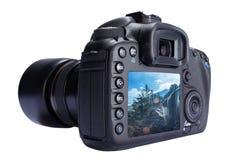 Camera Back Screen Stock Image