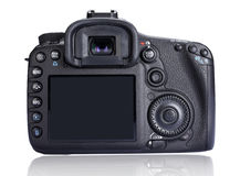 Camera Back Screen Royalty Free Stock Photo