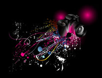 Camera background illustration Stock Image
