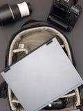 Camera Bag Stock Photo