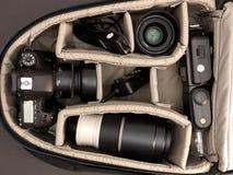 Camera Bag Royalty Free Stock Photos