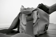 Camera Bag F Royalty Free Stock Photography