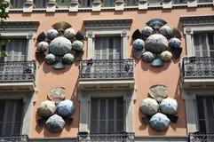 Camera, Barcellona, Spagna Immagini Stock