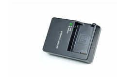 Camera battery charger Royalty Free Stock Images