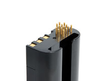 Camera battery grip Royalty Free Stock Photography