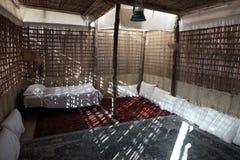 Camera beduina tradizionale immagini stock libere da diritti