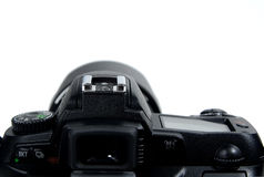 Camera Body. Rearview of SLR Camera Body Royalty Free Stock Photography