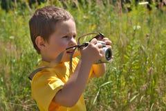 Camera Boy Royalty Free Stock Photography