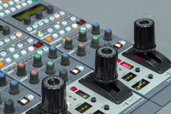 camera in broadcast controller stock photography