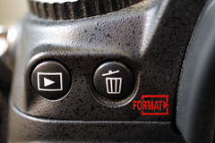 Camera button Royalty Free Stock Photography