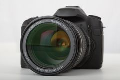 Camera, Cameras & Optics, Digital Camera, Single Lens Reflex Camera Royalty Free Stock Photo