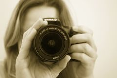 Camera, Cameras & Optics, Single Lens Reflex Camera, Digital Camera Royalty Free Stock Image