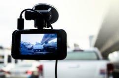 The Camera in Car. Royalty Free Stock Photos