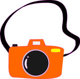 Camera cartoon Stock Image