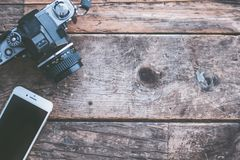 Camera, Cellphone, Devices Stock Image
