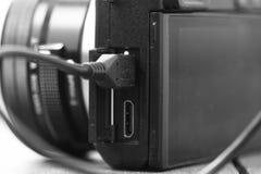 Camera charging A Stock Image