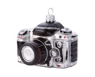 Camera Christmas Ornament Isolated Royalty Free Stock Image
