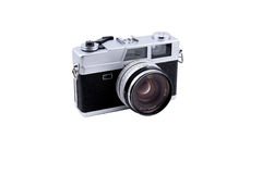 Camera. A classic rangefinder film camera Stock Images