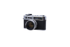 Camera. A classic rangefinder film camera Stock Photography
