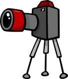 Camera clip art cartoon illustration Stock Photo