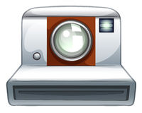 Camera. Close up classic hipster camera Royalty Free Stock Image