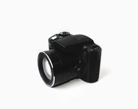 Camera. Compact digital camera new generation Royalty Free Stock Photo