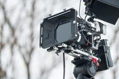 Camera with compendium Royalty Free Stock Photos
